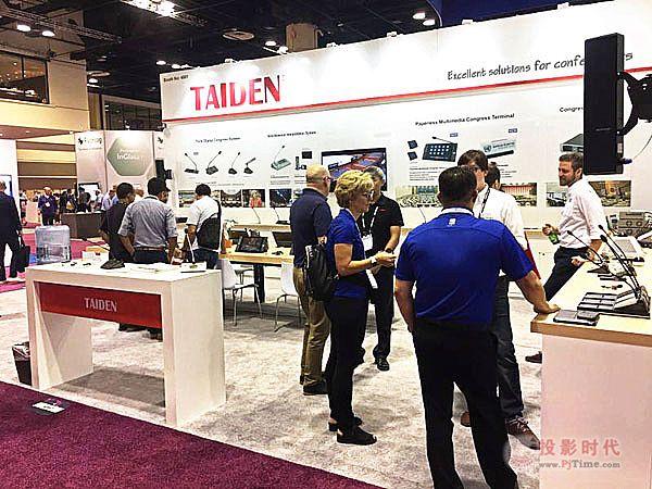 InfoComm USA 2019 TAIDEN出色表态