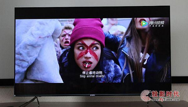 创维55Q40电视体验:画质表现