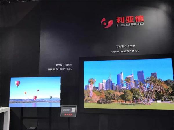 """利亚德0.6mm""""中国屏""""闪耀IFC2019"""
