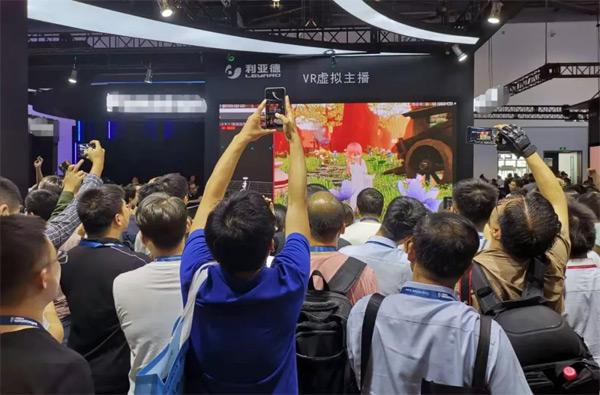 """国内首秀�@利亚德0.6mm""""中国屏""""闪耀InfoComm China2019"""