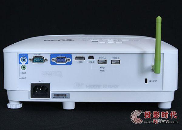 明基E580T商务投影仪之外观设计
