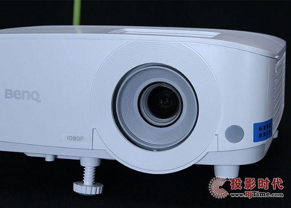 明基E580T商务投影仪之细节处理