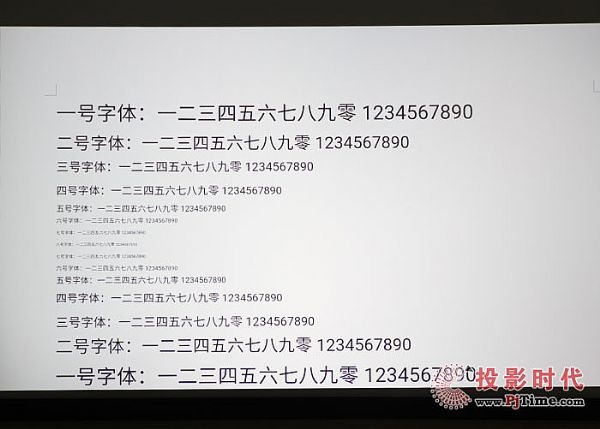 明基E580T商务投影仪之商务演示