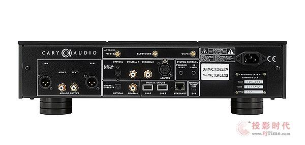 高阶机种新选择:Cary Audio DMS-600串流播放器