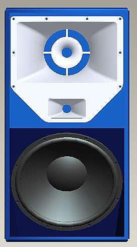 Wharfedale Pro Eagle312三分频专业娱乐音箱