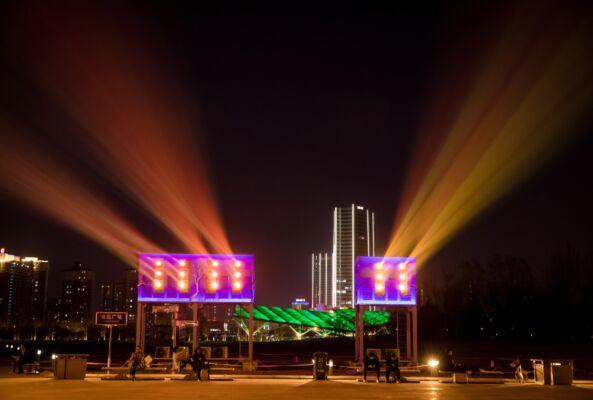 城市亮化最大单体项目纪录,巴可品质造就视觉盛宴