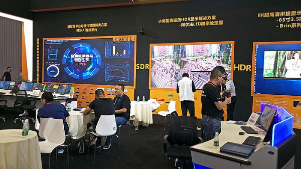 成都InfoComm China 2019德彩股份小间距LED霸气来袭