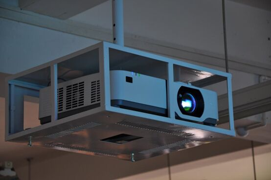 NEC空•灵系列教育投影机走进云农大,诠释现代化教育必修课
