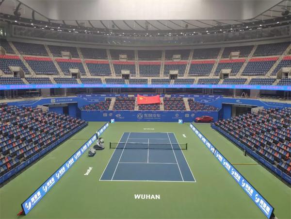 利亚德集团为2019武汉网球公开赛提供全赛程LED体育应用解决方案
