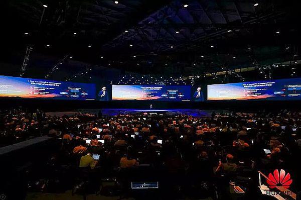 120只M-F3A PRO在2019华为全联接大会上同时发声