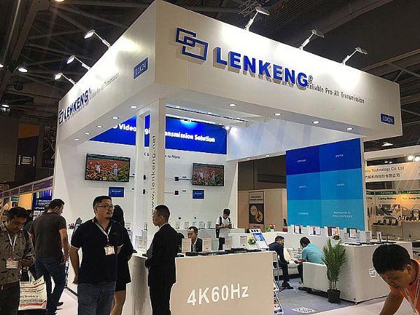 香港电子展朗强领跑高清视频数字传输领域