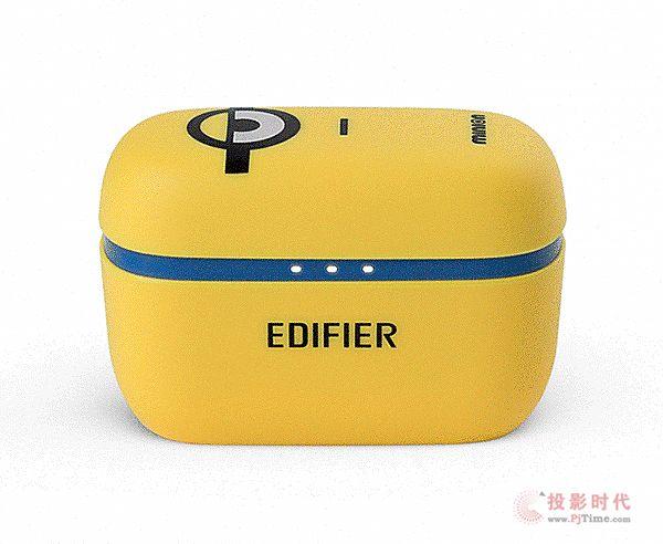 超萌!Edifier W3小小兵真无线耳机