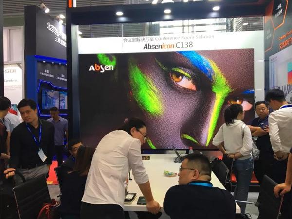 集结黑科技丨艾比森全新Mini LED产品亮相深圳安博会