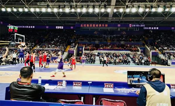 利亚德集团倾力打造CBA北京紫禁勇士队(北京北控)主场显控系统