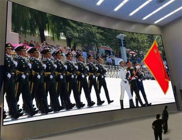 雷曼COB超高清显示屏亮相新疆生产建设兵团某师公安指挥中心