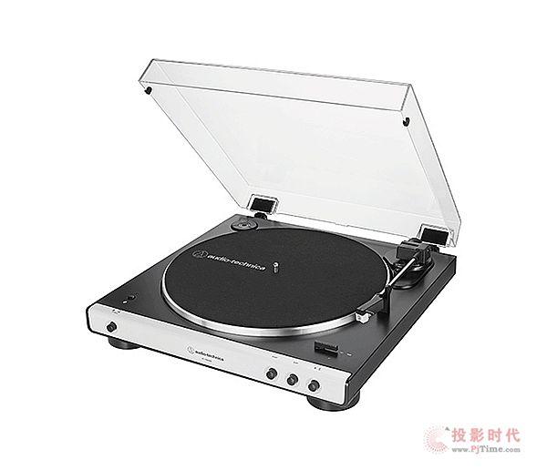 无线传输:Audio-Technica铁三角黑胶唱盘