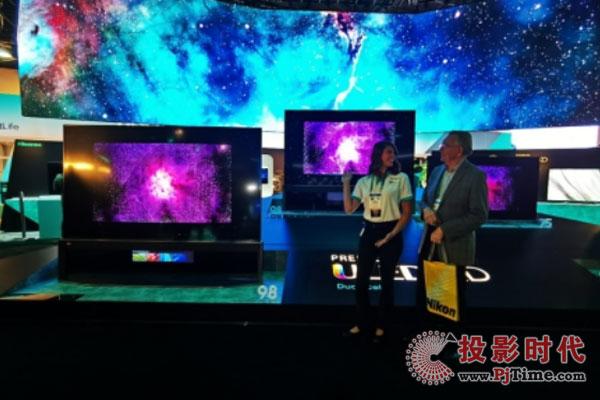 海信多款旗舰黑科技电视集体亮相CES2020