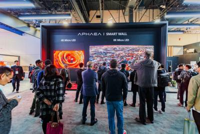CES 2020康佳展示APHAEA拼接micro-LED显示屏