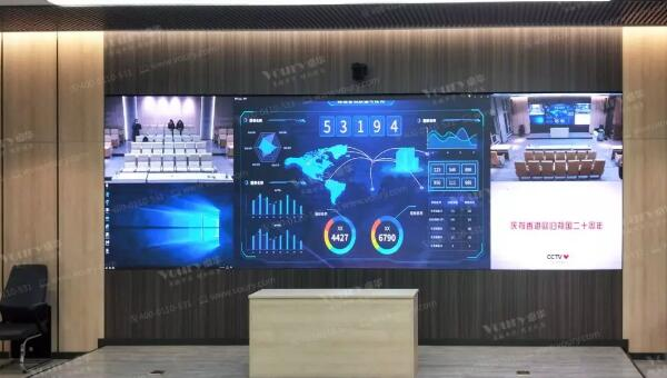 卓华COB封装LED系统助辽宁人民法院