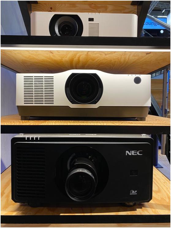 NEC闪亮ISE展 2万流明激光投影新品或将引爆市场