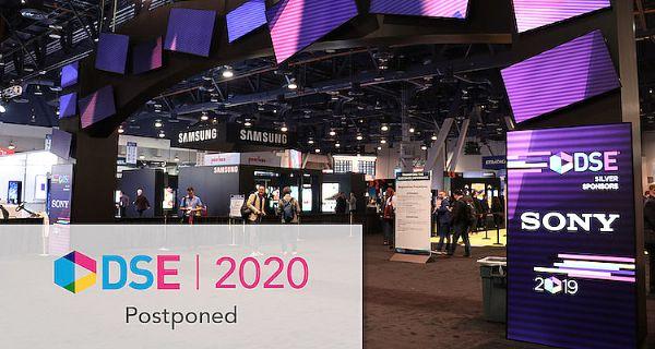 DSE 2020数字标牌博览会推迟至秋季