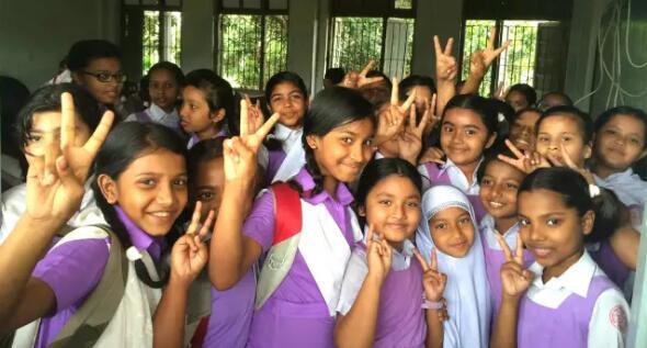 【海尔国际智慧教育助力孟加
