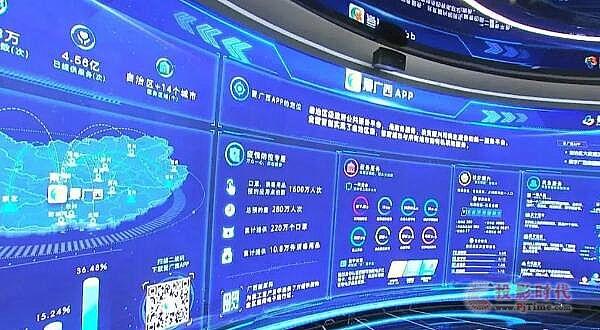 创凯还原真实数字广西,助力中国-东盟信息港建设指挥部调研工作!