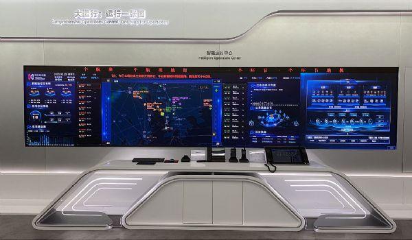 洲明智慧大屏助力深圳机场数字化转型