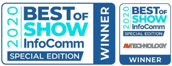 索尼VPL-CWZ10荣获InfoComm 2020最佳视听技术产品奖