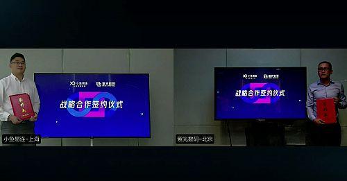 小鱼易连与紫光数码战略合作 共拓云视频蓝海