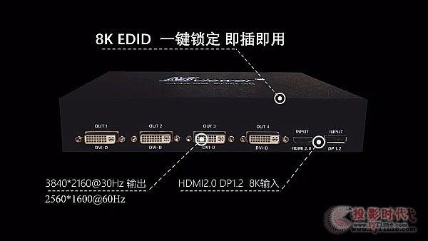 新品发售 大视MV304—4K60四屏扩展仪