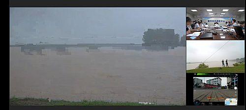 云视频助力黄河防汛实时联动