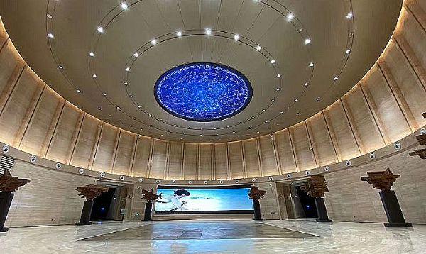 艾比森产品在中国建筑科技馆的应用