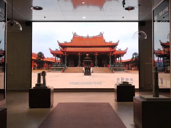 必打卡地标,中国建筑科技馆和西安大明宫都有艾比森LED大屏身影