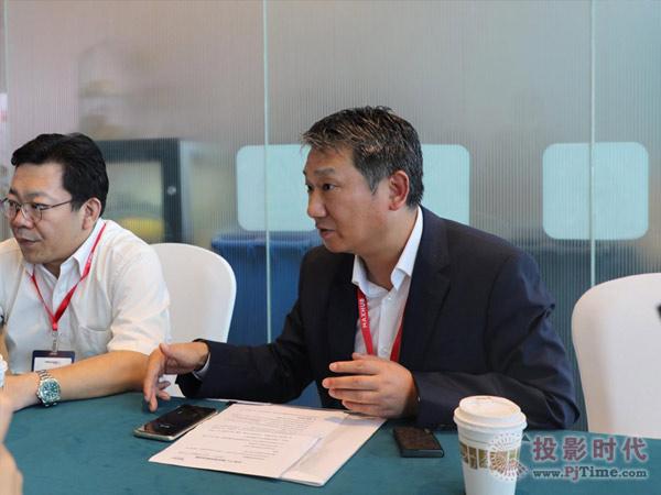 中原CEO朱谆:做国产投影的领先者