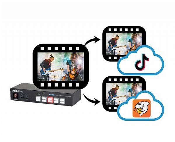 Datavideo 洋铭重磅推出全新横竖屏双平台直播编码器 – Datavideo NVS-34