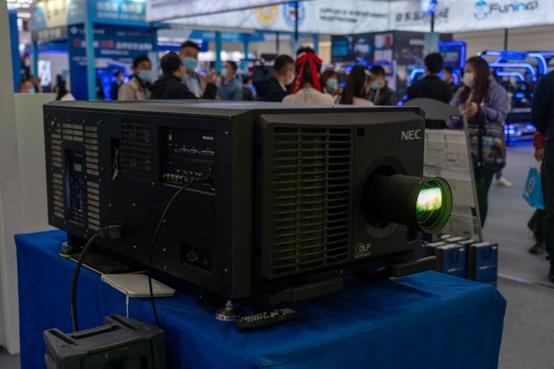 NEC游乐展上点燃中国风 真4K画质再现千古佳作