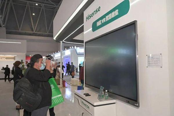 关注师生用眼健康 海信教育交互式触控一体机、智慧黑板亮相第78届中国教育装备展