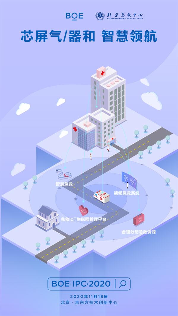 BOE IPC·2020|京东方携手北京急救中心 万物互联赋能智慧急救