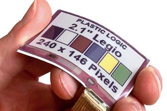 元太携手Plastic Logic推出柔性彩色电子纸显示器