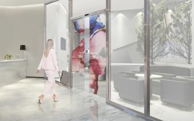 LG和亚萨合莱推出商用透明OLED推拉门