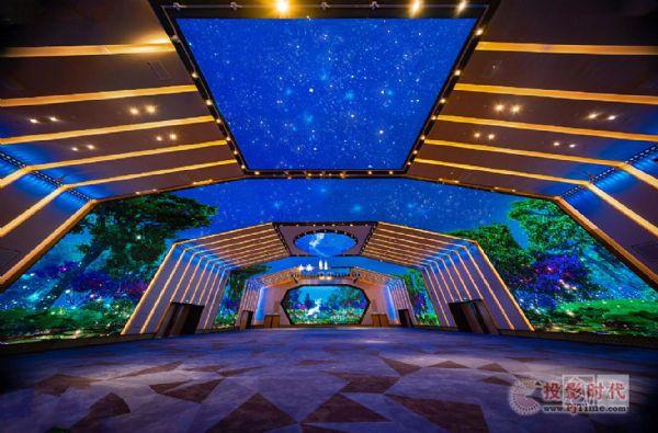 利亚德打造北京首家1400m²3D全景沉浸式宴会厅