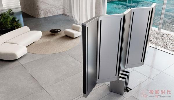 首款可折叠165英寸电视 你想想就好了
