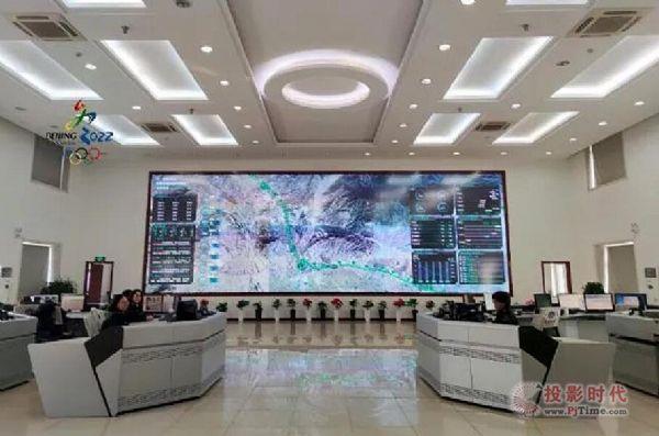 京张高速采用威创可视化指挥调度平台