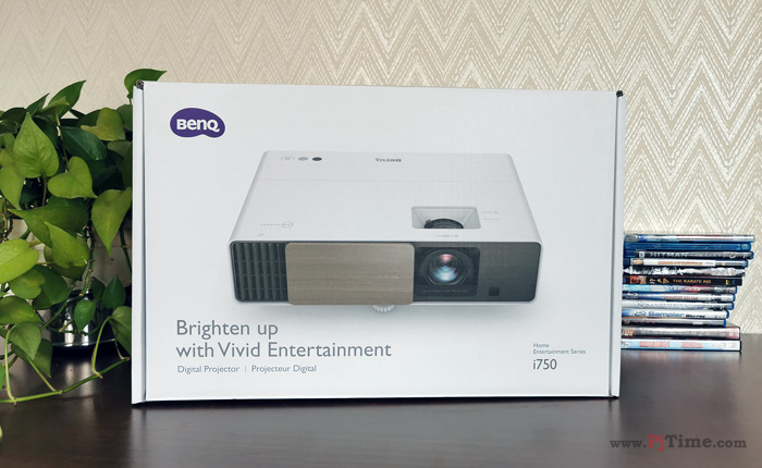明基匠心设计i750投影机开箱及外观设计