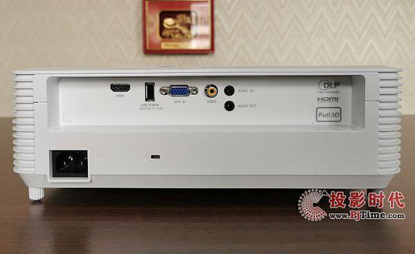 索诺克SNP-A100X商务投影机外观:时尚简约 细节突出