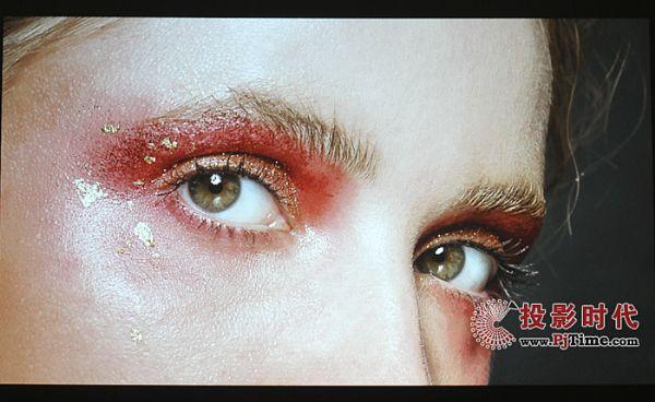 索诺克SNP-A100X商务投影机画面:色彩纯正 清晰度高