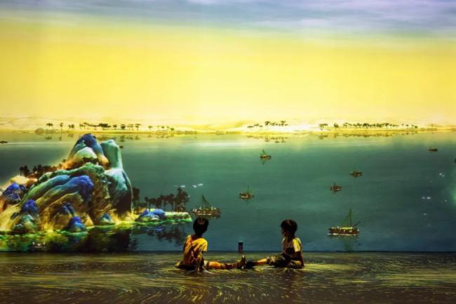 画游千里江山   巴可光影重塑流动的宋朝风景-视听圈
