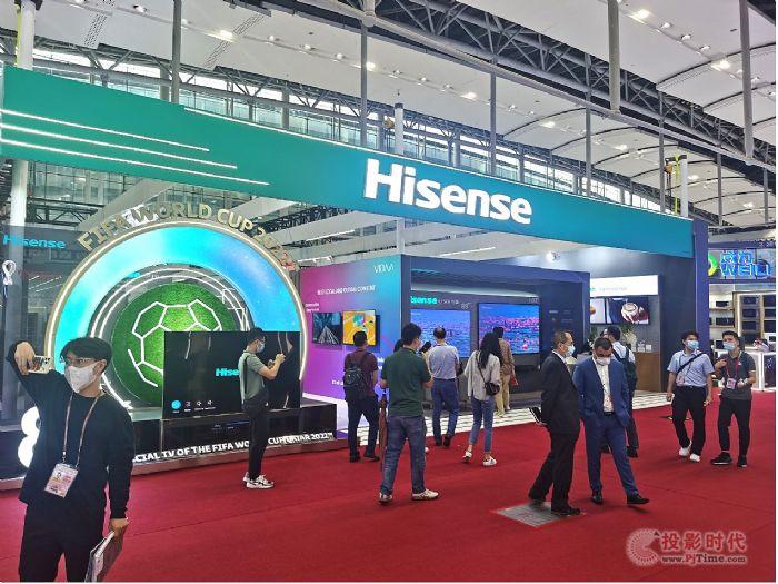 海信海外自主品牌收入占比突破8成,激光电视商用显示产品增长迅猛