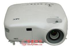 """商务女郎也喜爱 测评""""白珍珠""""NEC LT375+投影机"""